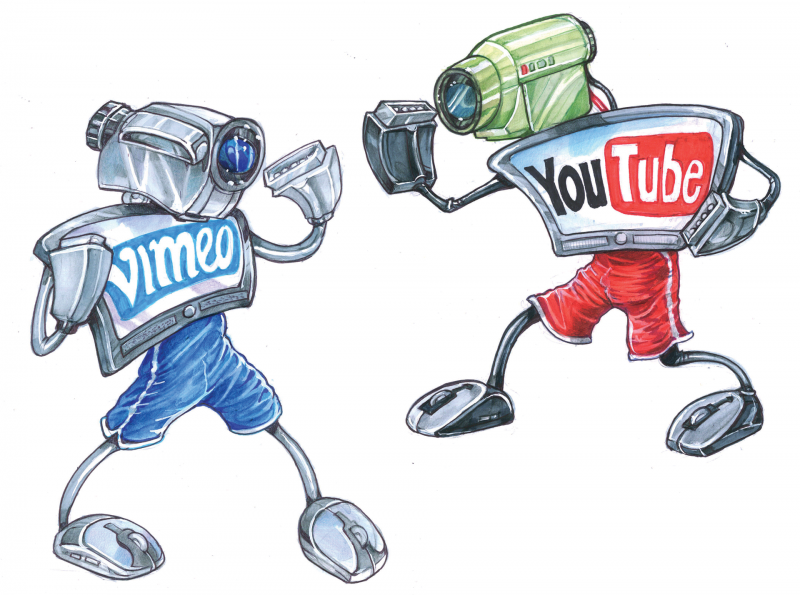 Vimeo vs. YouTube (Part. I)