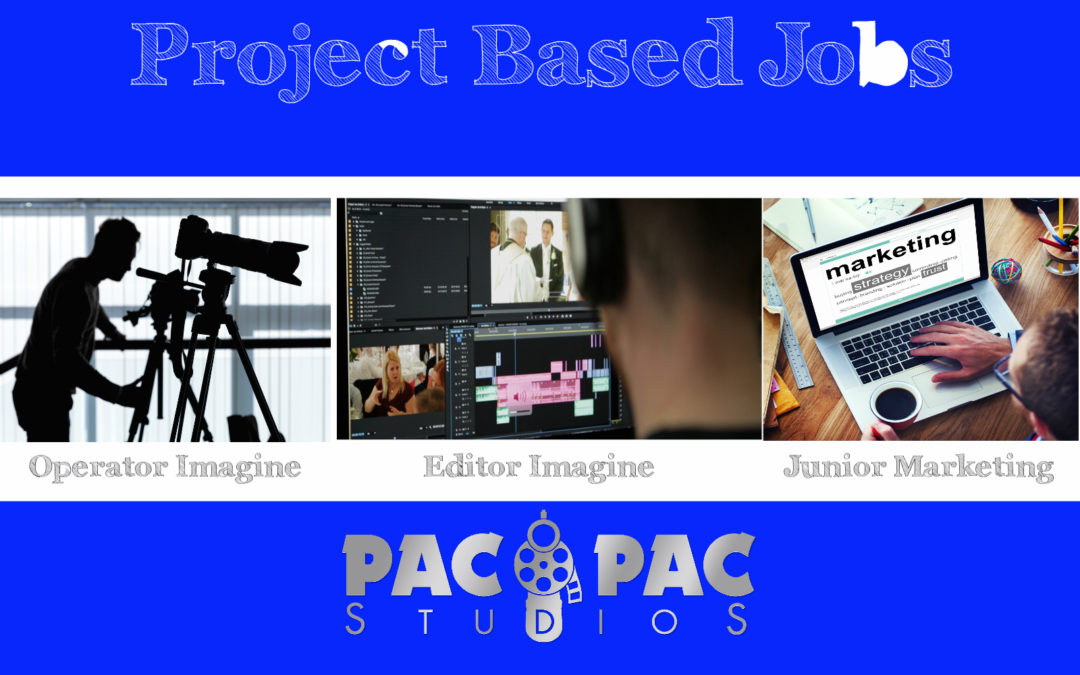 PacPac StudioS caută colaboratori: Operatori Imagine, Editori Imagine și Junior Marketing